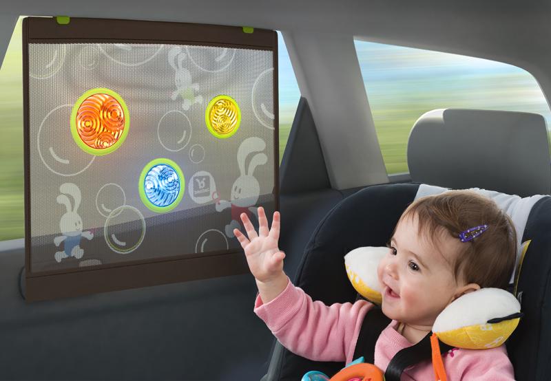 Детские шторки для стекол автомобиля