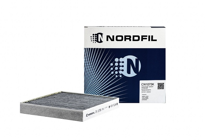 Салонные фильтры NORDFIL