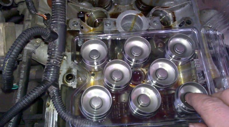 Замена гидрокомпенсаторов клапанов