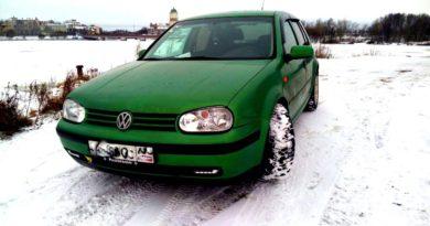 Устновка топливного бака автомобиля Volkswagen Golf