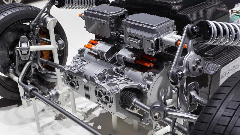 Электрический двигатель автомобиля